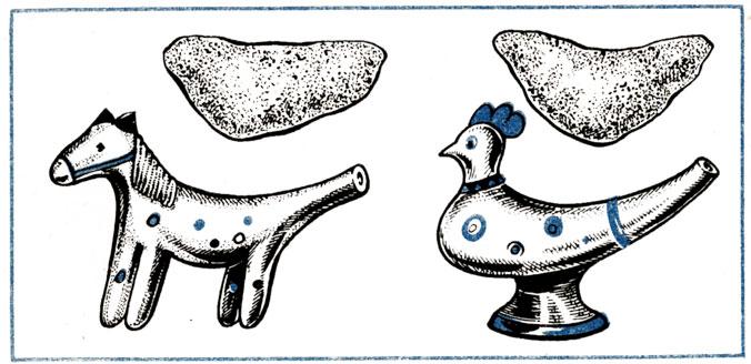 раскраска абашевская игрушка