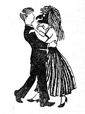 танец игра санки
