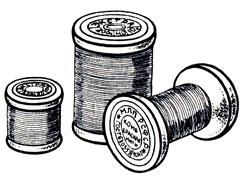 Рис. 27. Швейные нитки