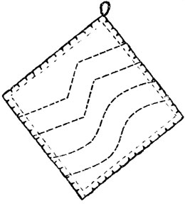 Рис. 21. Тряпочка для стирания пыли